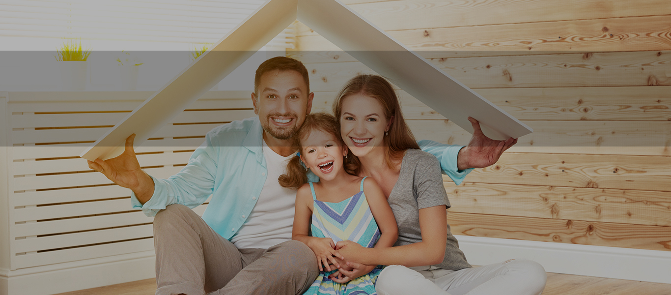 Image of family protected with Home and Contents Insurance